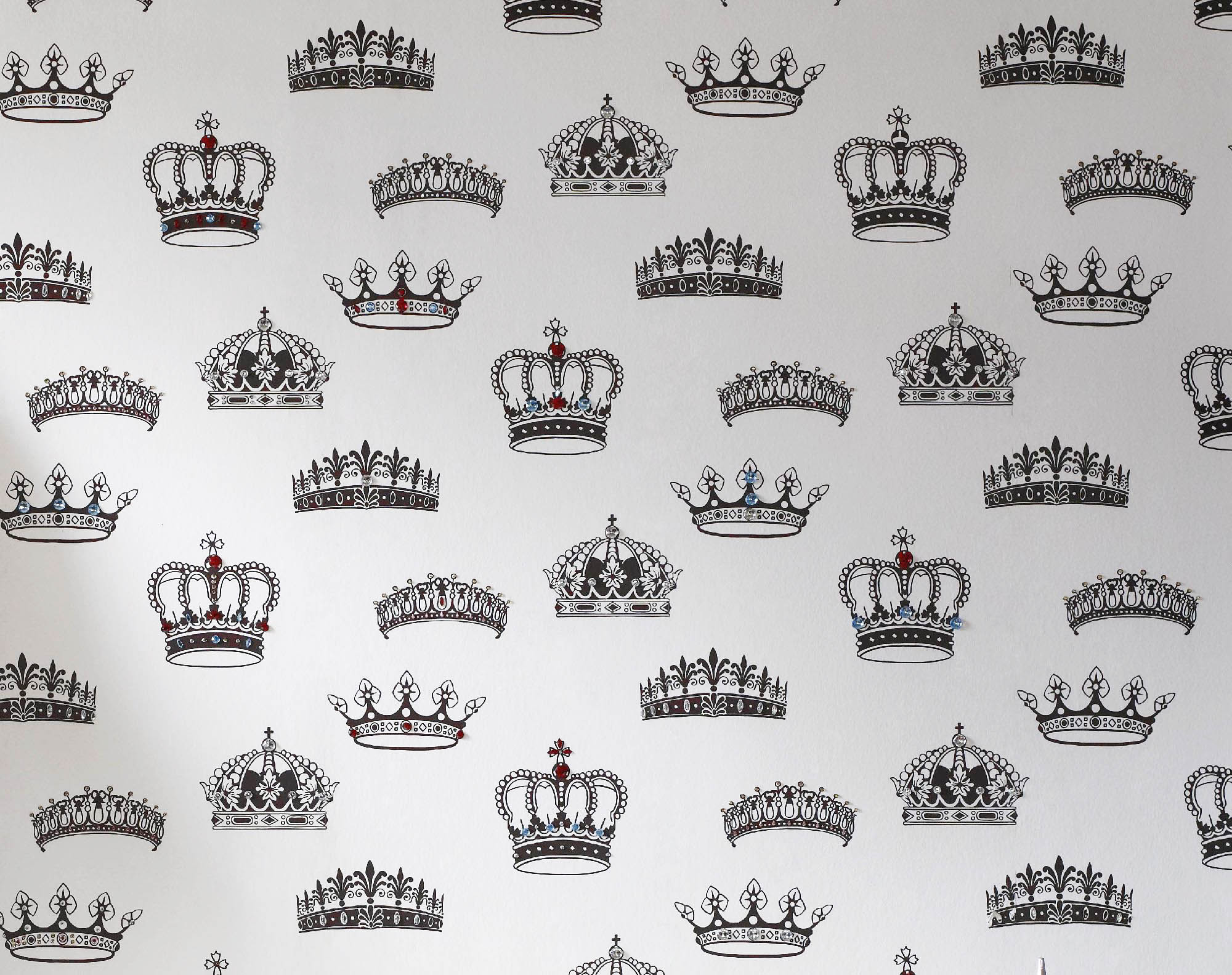 Crown Vector Wallpaper Black And White Queen Crown