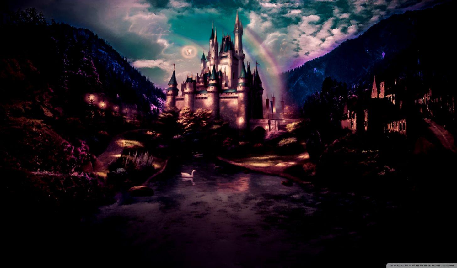 Dark Castle Land Fairytale 4k Hd Desktop Wallpaper Castle Fairytale Wallpaper Hd 2049410 Hd Wallpaper Backgrounds Download