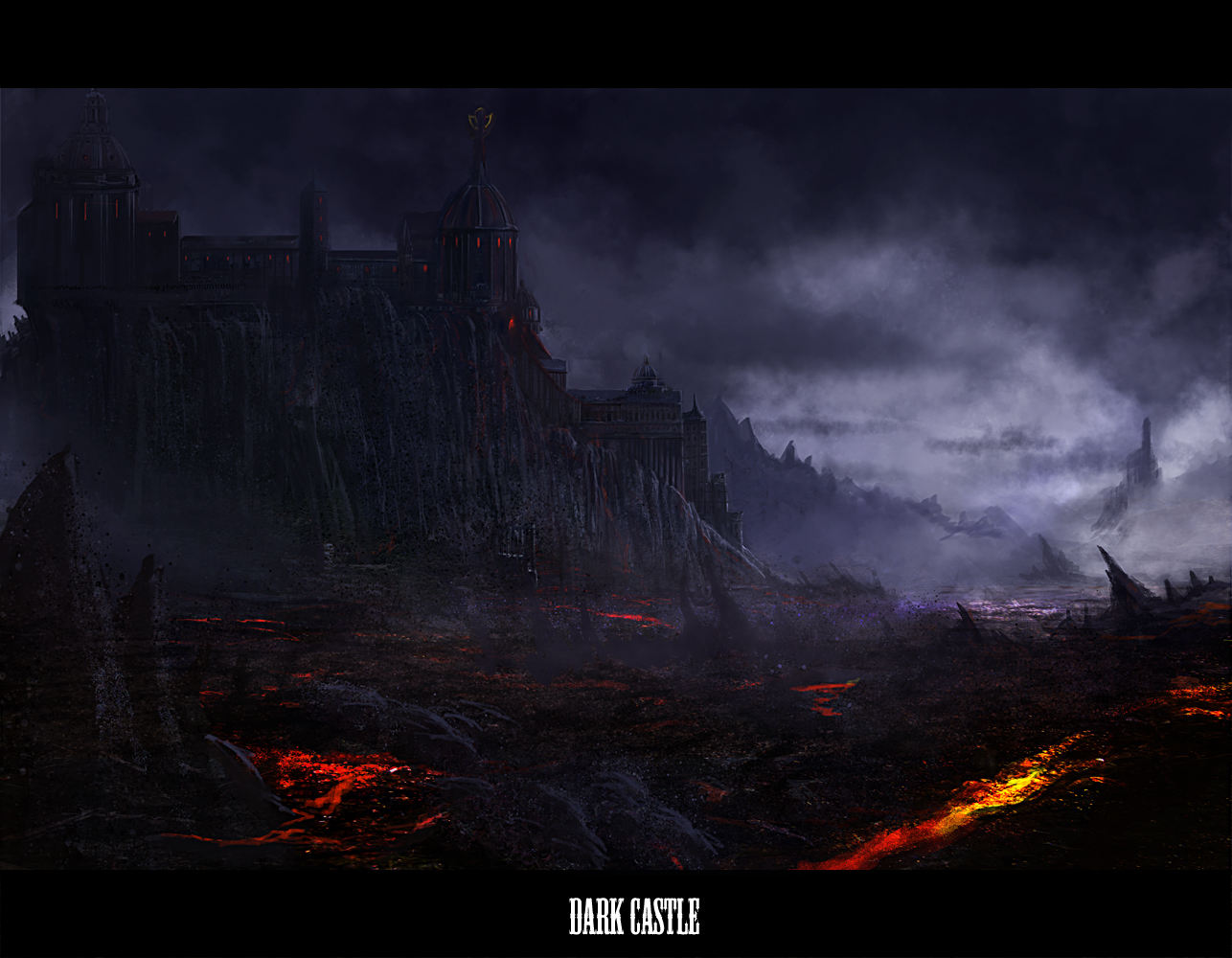 Dark Castle Wallpaper And Background Image - Dark Castle Photos Fantasy , HD Wallpaper & Backgrounds