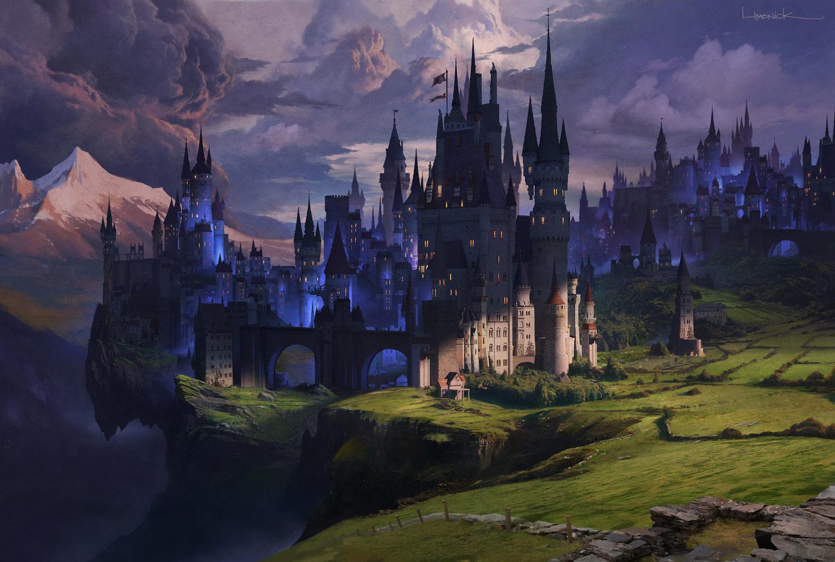 Fantasy Dark Kingdom , HD Wallpaper & Backgrounds