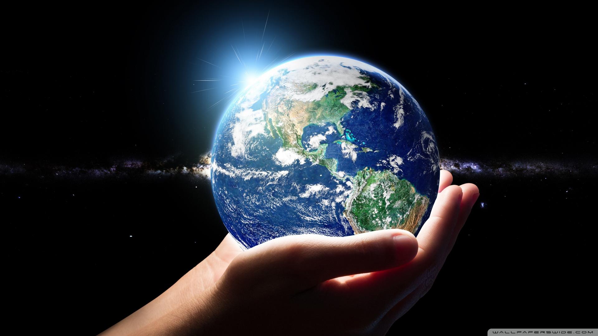 Download Planet Earth Wallpaper Hd - Earth Hd , HD Wallpaper & Backgrounds