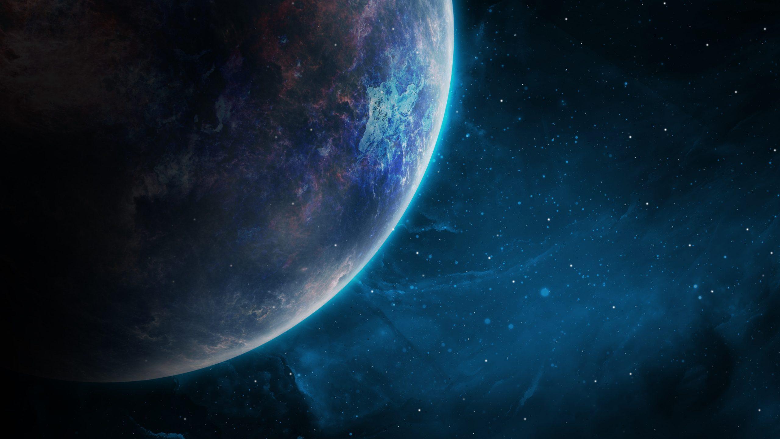 Blue Planet 4k Space Galaxies Wallpaper 4k 2053336 Hd Wallpaper Backgrounds Download
