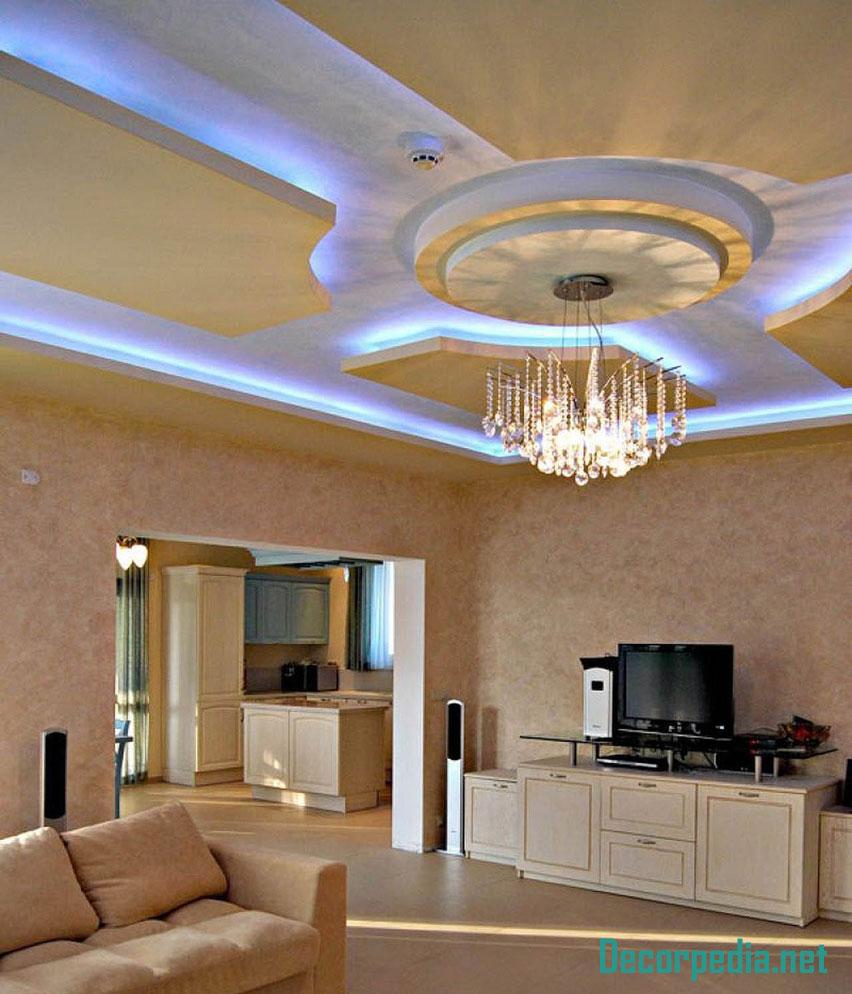 New Pop Fall Ceiling Design   Homeminimalisite.com