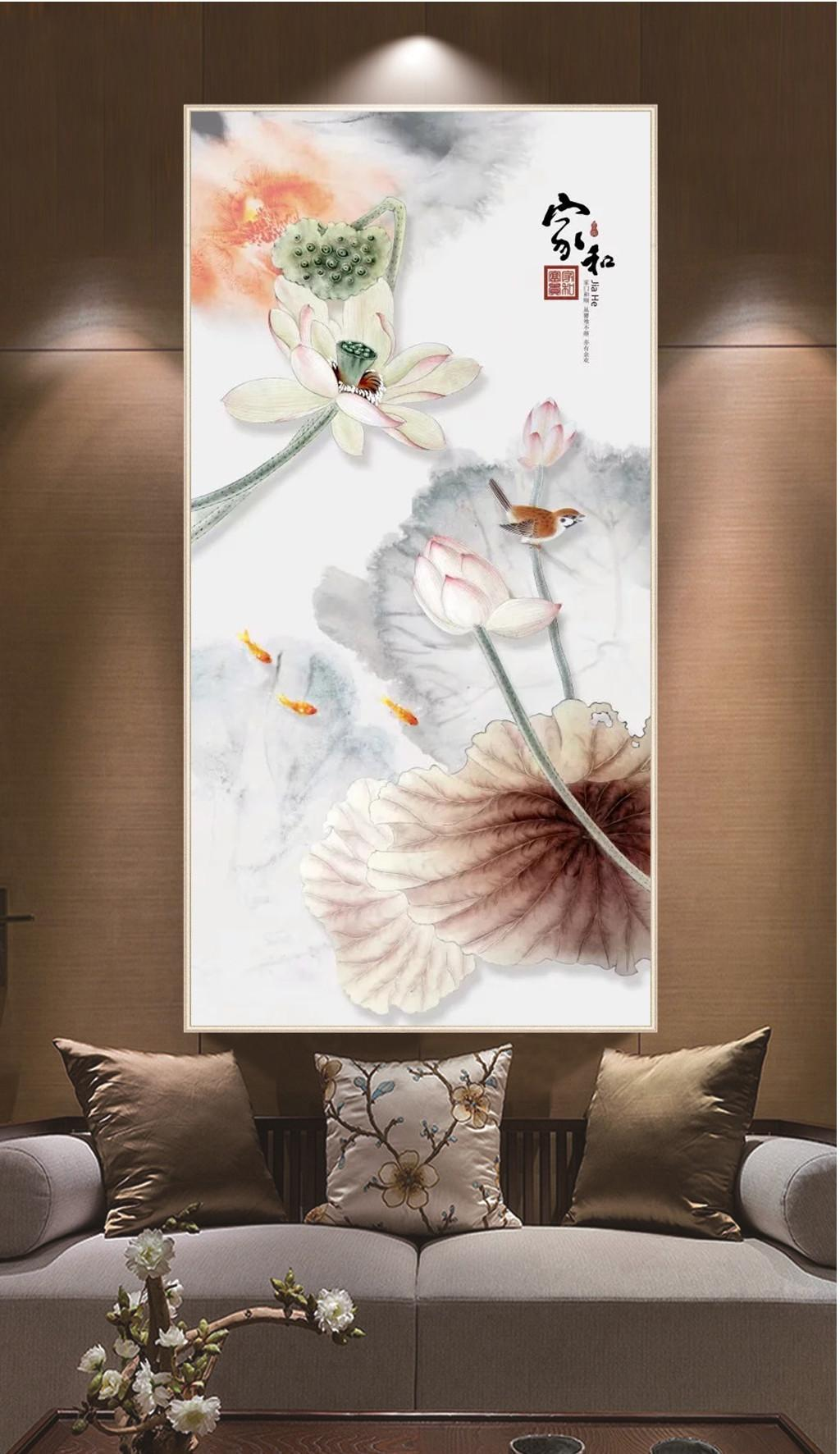 Custom Retail 3d Home And Beautiful Lotus Flower Interior - 3d Beautiful Wallpaper For Mobile Phone , HD Wallpaper & Backgrounds