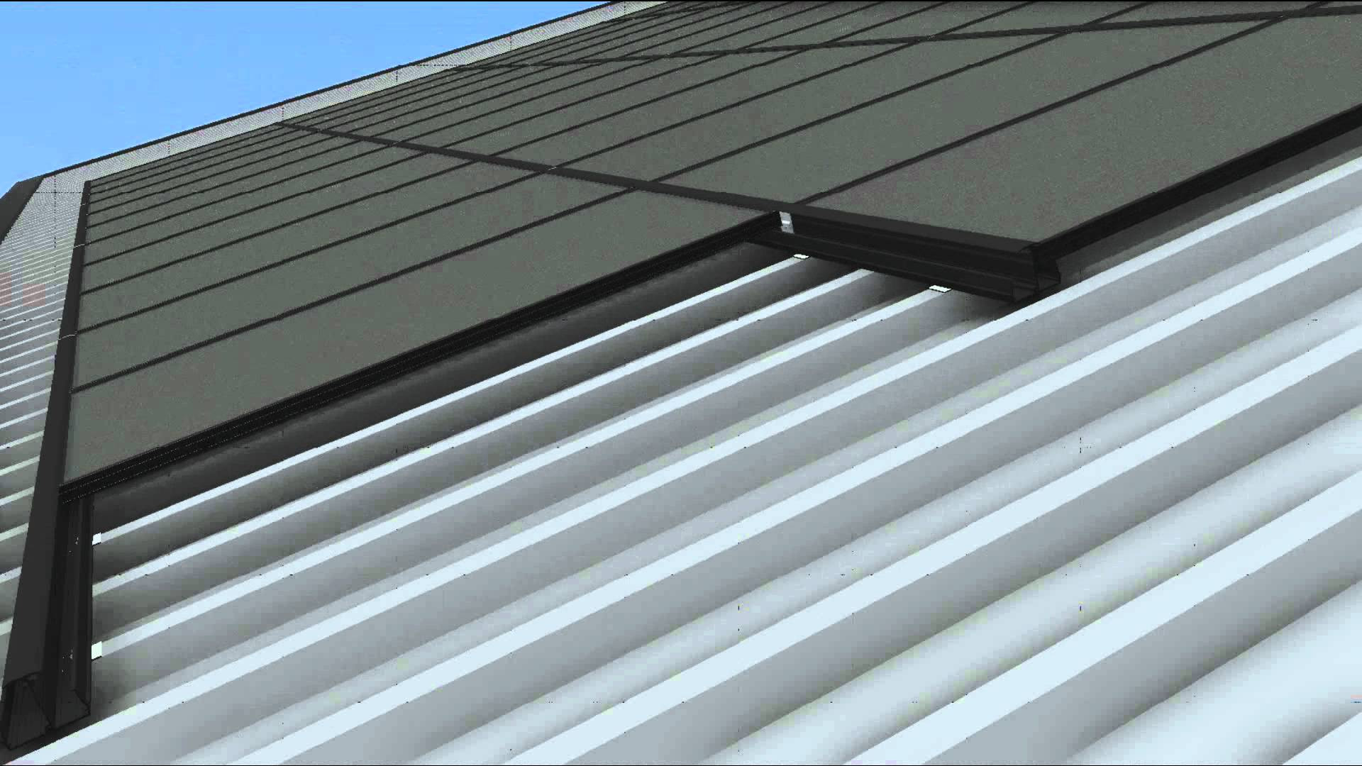Roof Awesome Installing Corrugated Metal Roofing Wallpaper - Flat Metal Roof  Panel (#2056332) - HD Wallpaper & Backgrounds Download