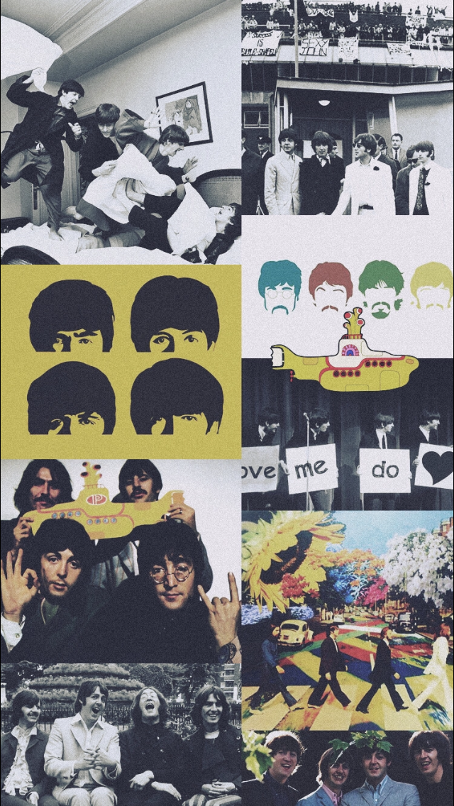 The Beatles Lockscreen - Lockscreen The Beatles Aesthetic , HD Wallpaper & Backgrounds