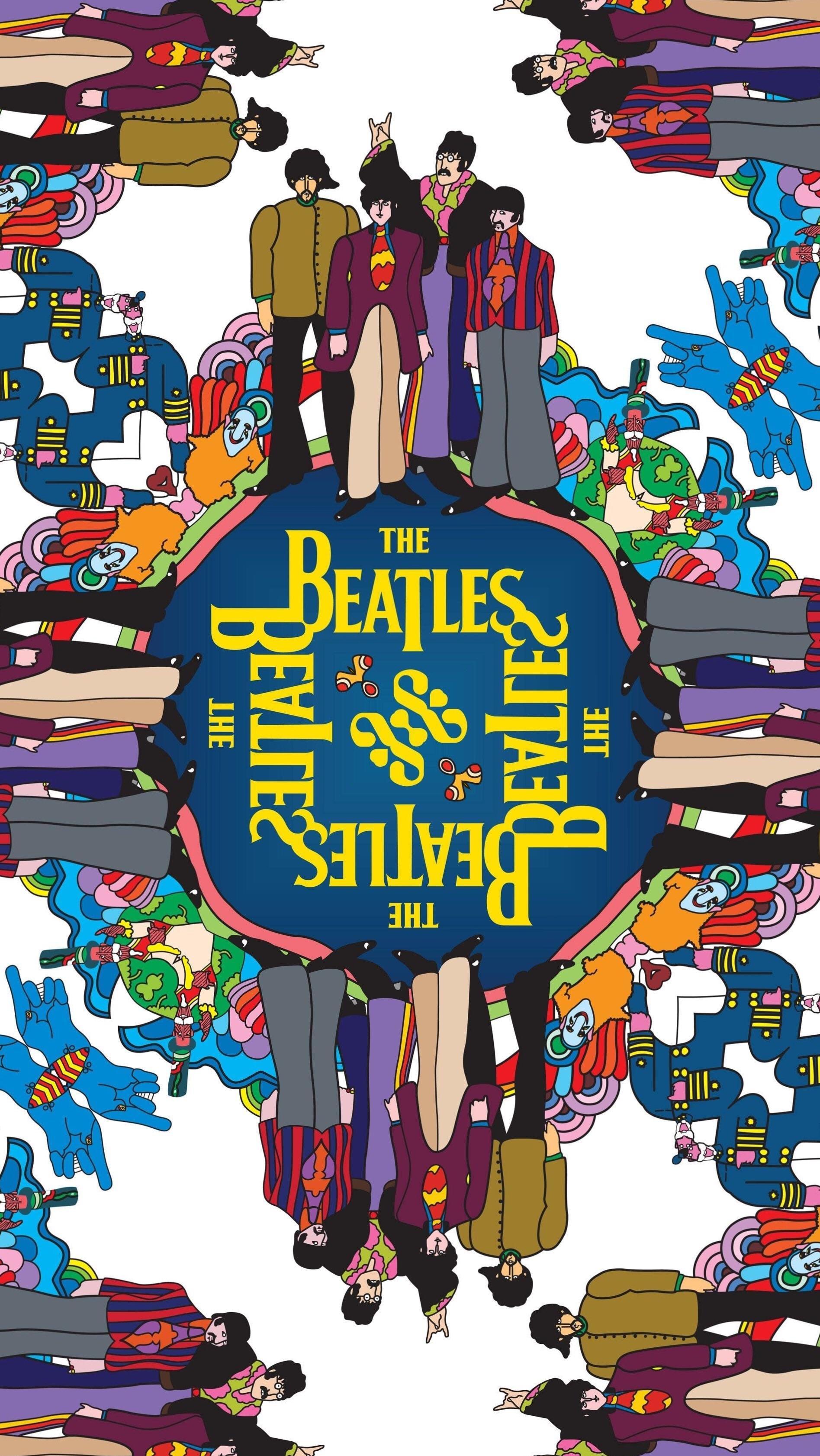 Beatles Yellow Submarine Wallpaper Iphone 2061522 Hd