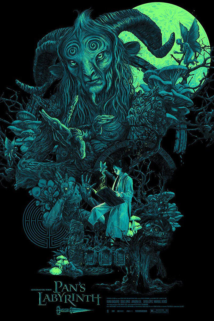 Pan S Labyrinth Pan S Labyrinth Movie Poster 2065382 Hd Wallpaper Backgrounds Download