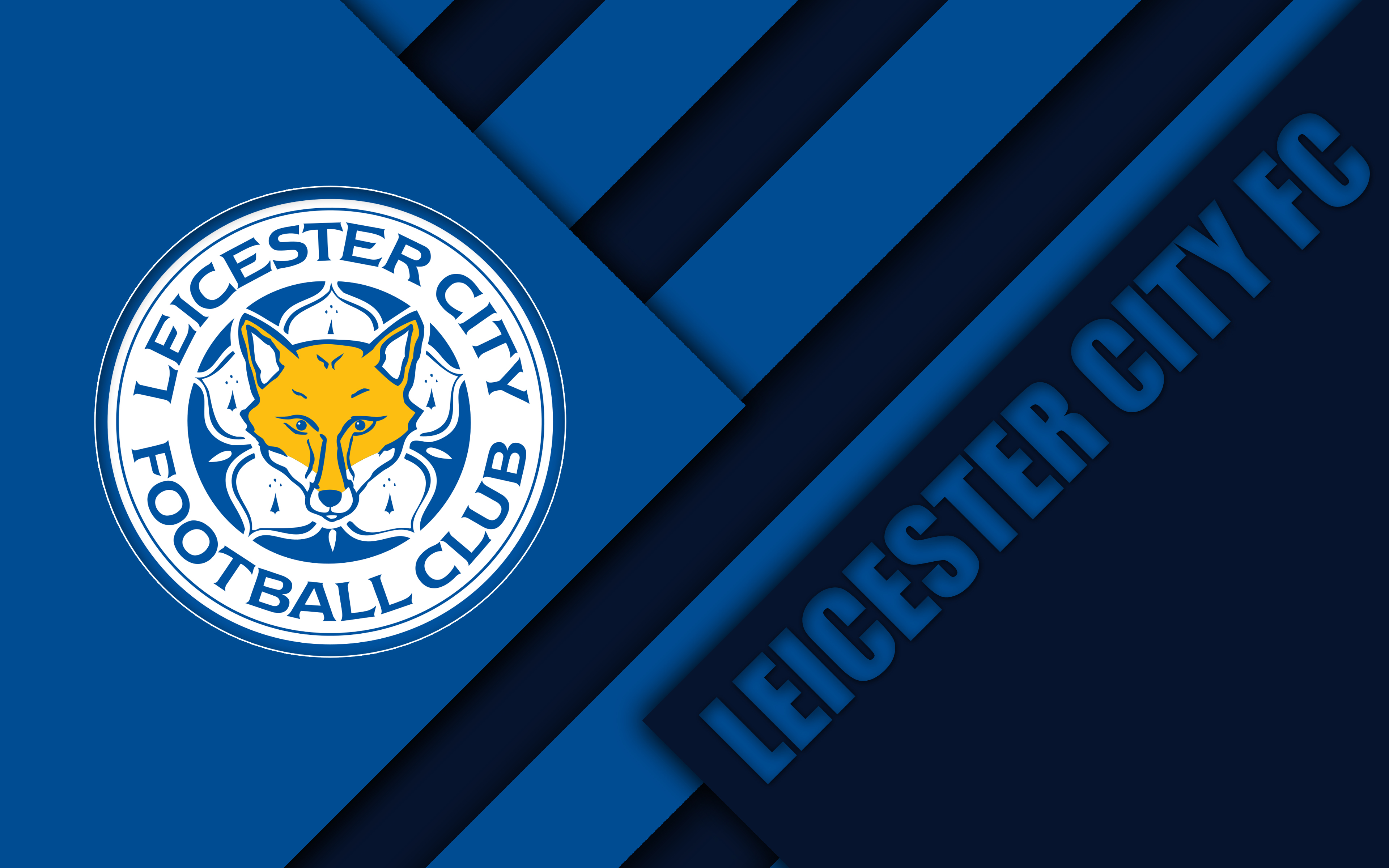 Leicester City F - Logo Wallpaper Leicester City , HD Wallpaper & Backgrounds
