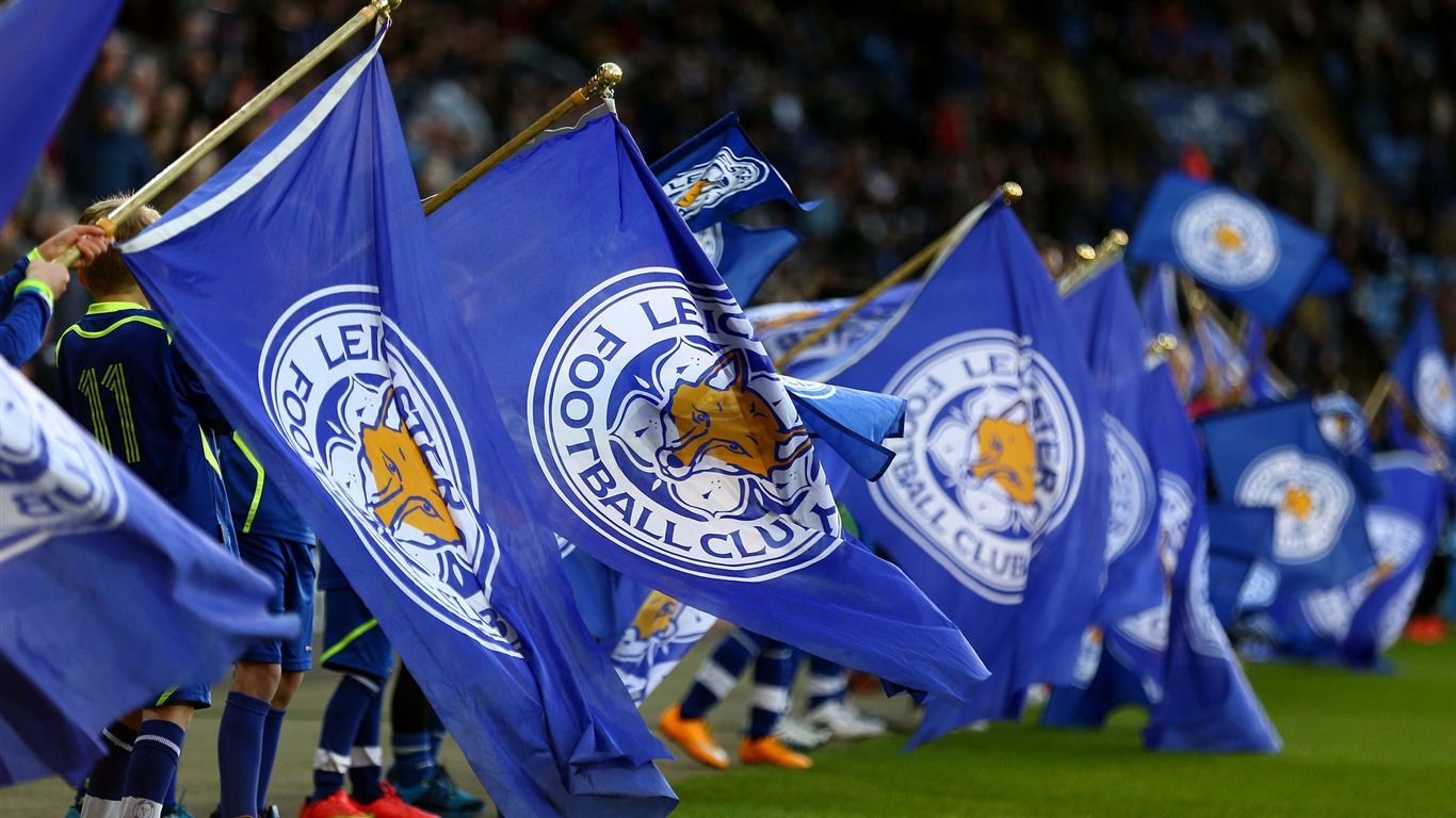 Leicester City Football Club Champions Hd Wallpaper - Leicester City F.c. , HD Wallpaper & Backgrounds