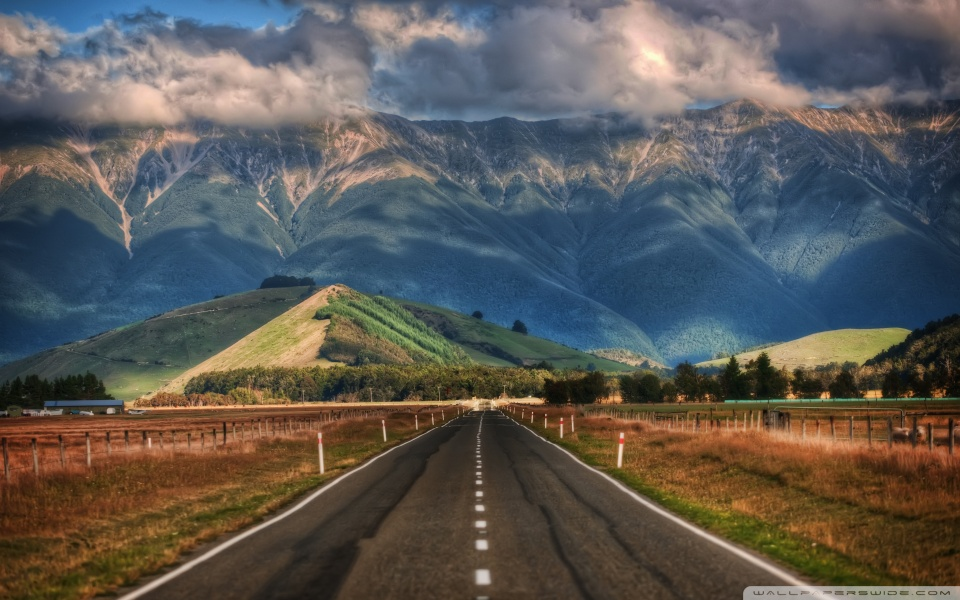 Wide 16 - - New Zealand , HD Wallpaper & Backgrounds