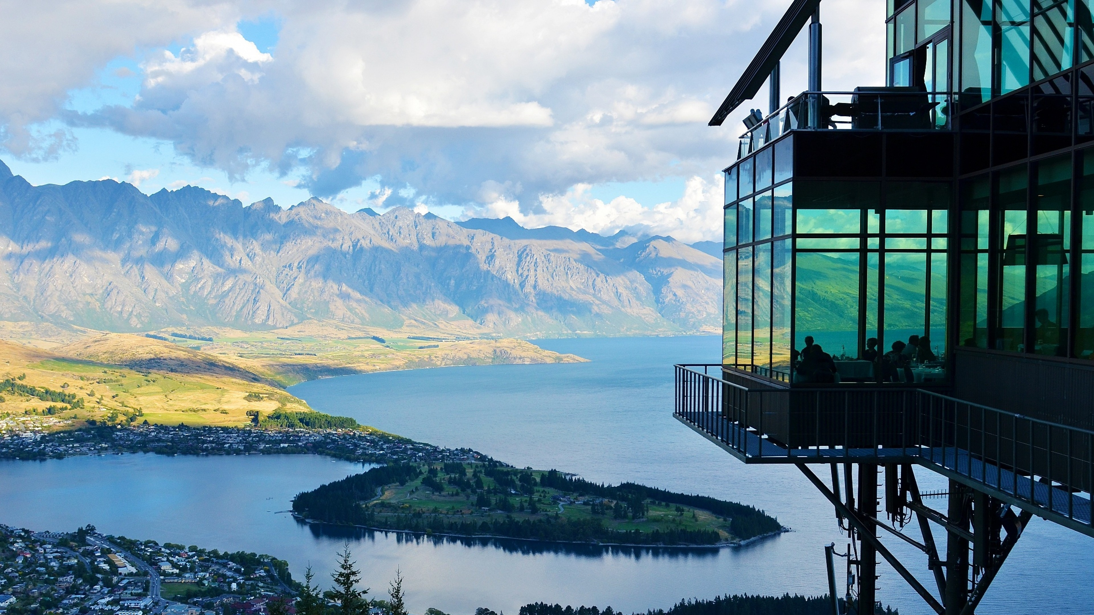 Preview Wallpaper New Zealand, Lake, Mountain, Distance - New Zealand , HD Wallpaper & Backgrounds