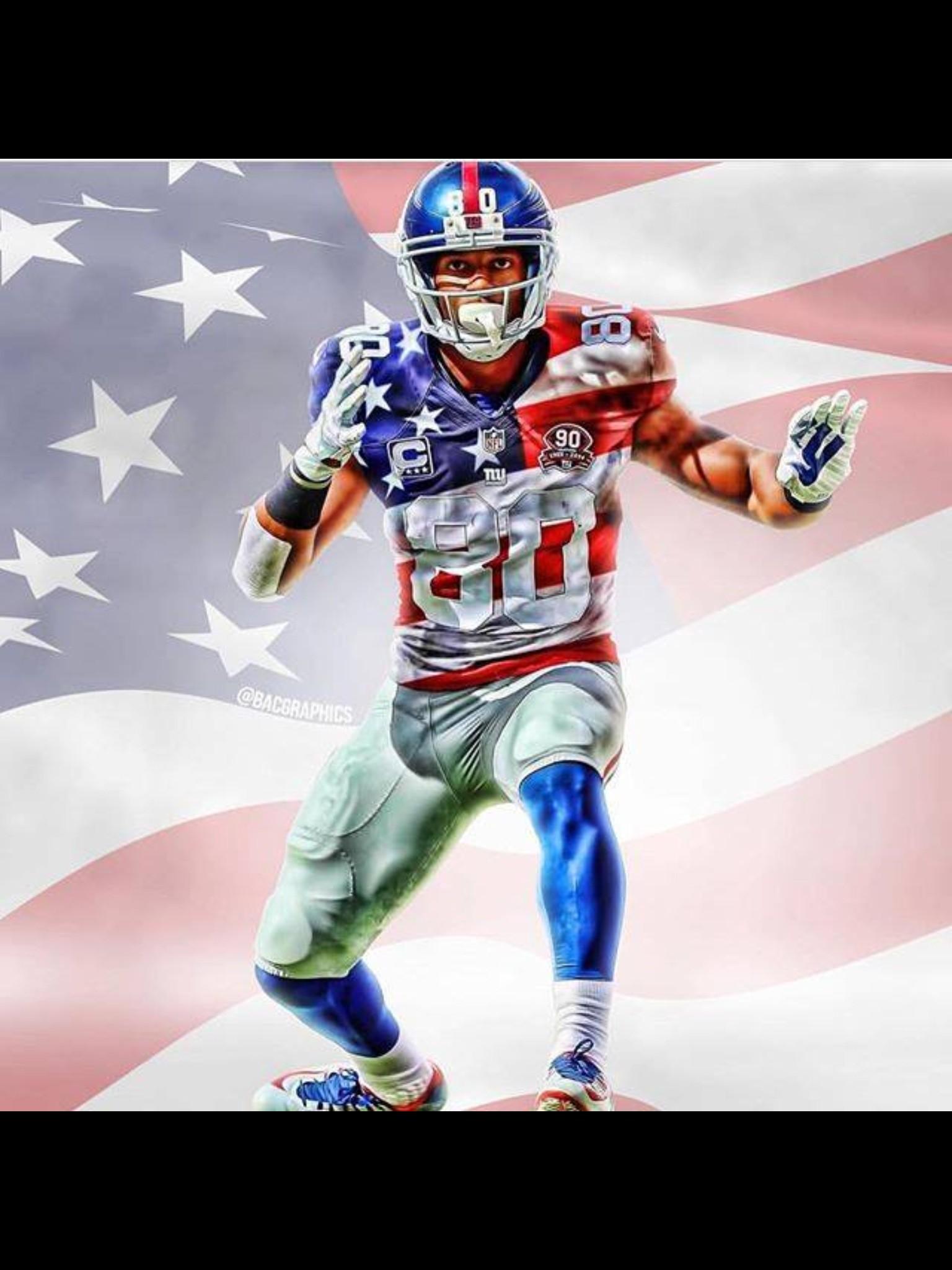 Of July 2016 America Themed Victor Cruz New York Giants Odell