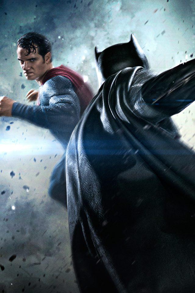 Batman Vs Superman Movie Fight Iphone Wallpaper - Batman Vs Superman , HD Wallpaper & Backgrounds