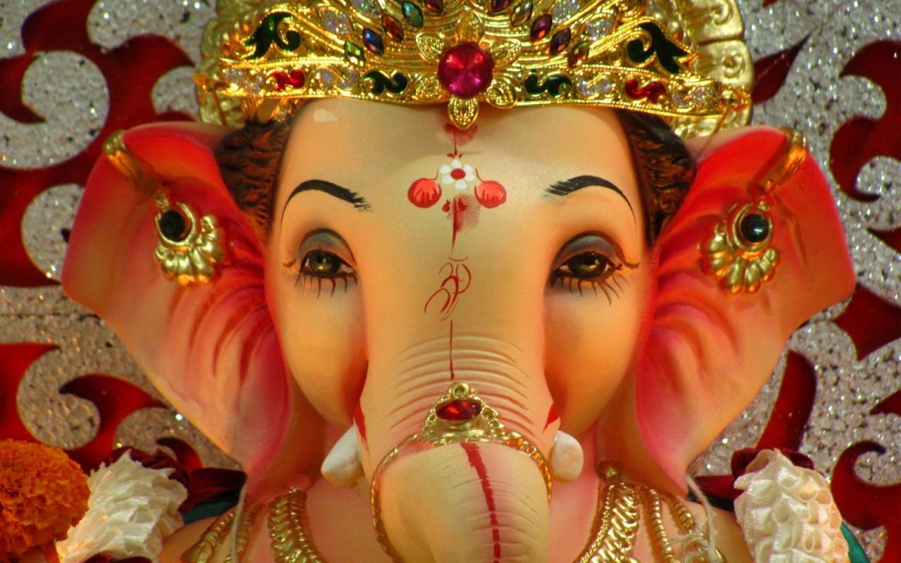1280 X - Ganesh Chaturthi , HD Wallpaper & Backgrounds