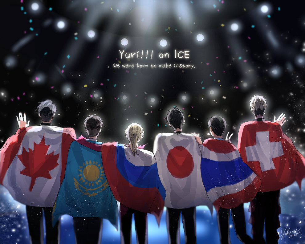 Fan Creationhistory - Make History Yuri On Ice , HD Wallpaper & Backgrounds