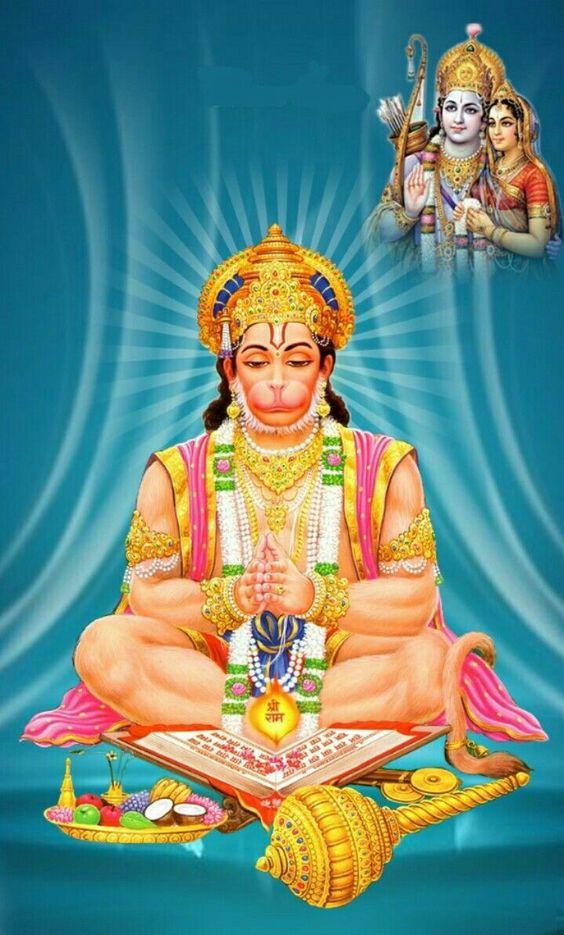 Most Beautiful Image Of Hanuman Wallpaper - Jai Shri Ram Jai Hanuman , HD Wallpaper & Backgrounds