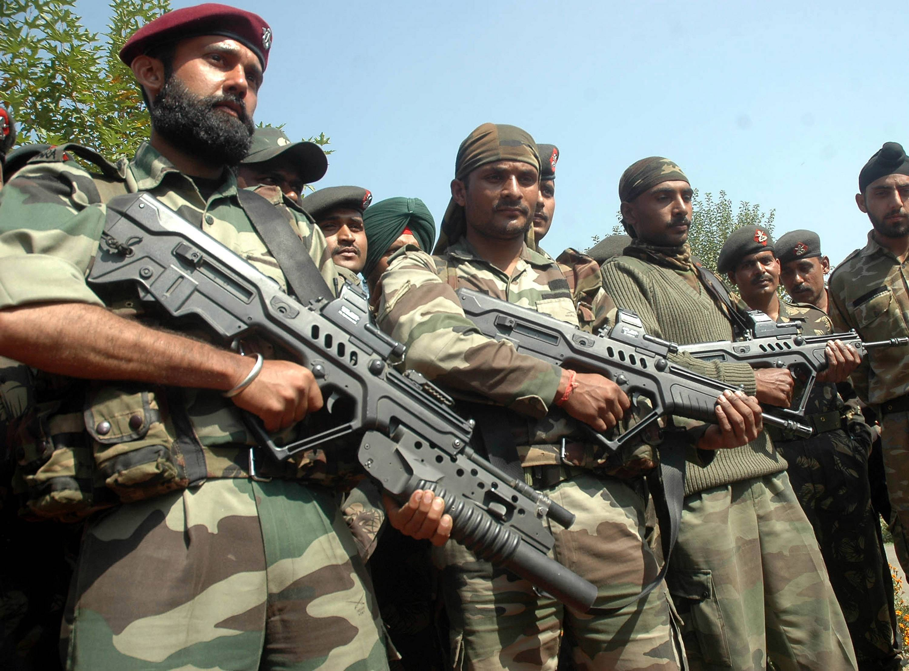 Para Special Forces Wikipedia Tavor Rifle Indian Army 2076859