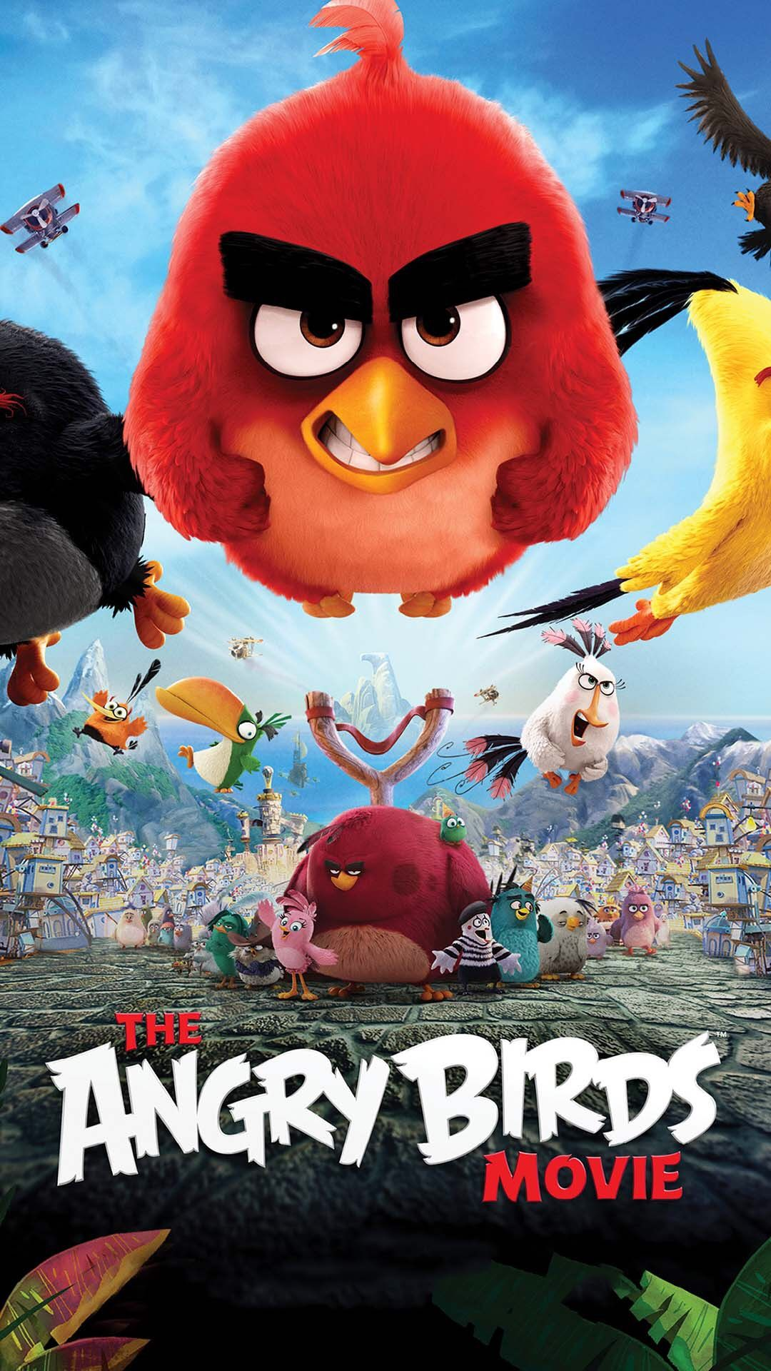 Angry Birds Movie Angry Birds Full Movie, Anry Birds, - Angry Birds 2016 Poster , HD Wallpaper & Backgrounds