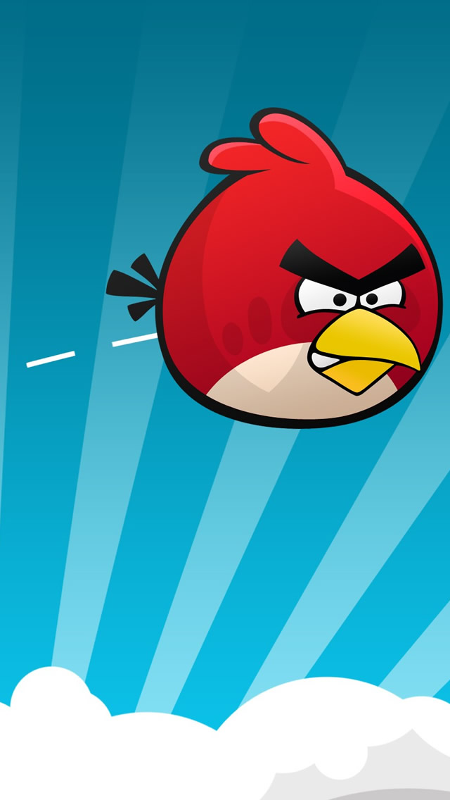 Angry Bird Game Background , HD Wallpaper & Backgrounds
