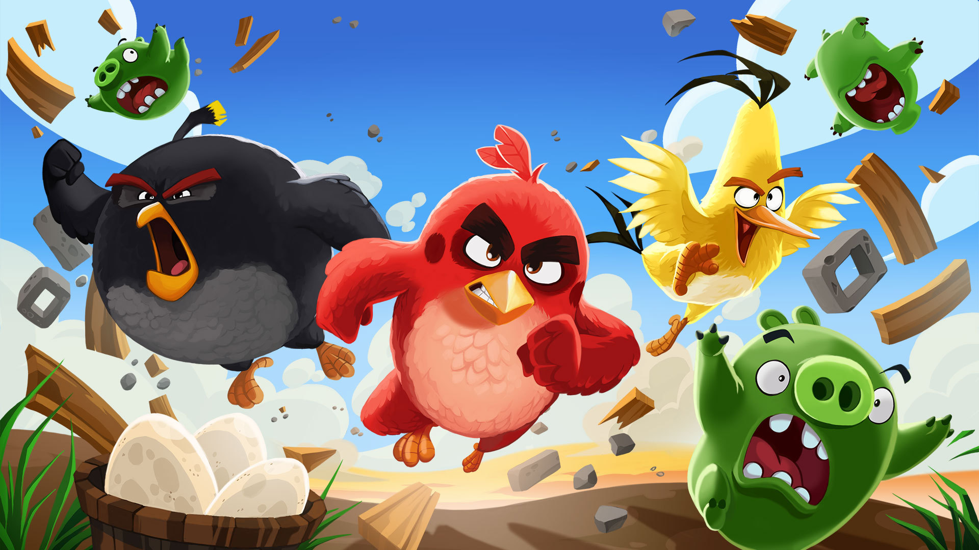 Angry Birds , HD Wallpaper & Backgrounds