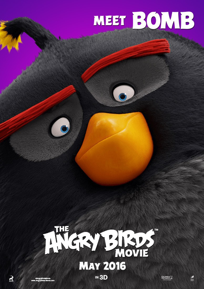 Angry Bird Movie Poster , HD Wallpaper & Backgrounds