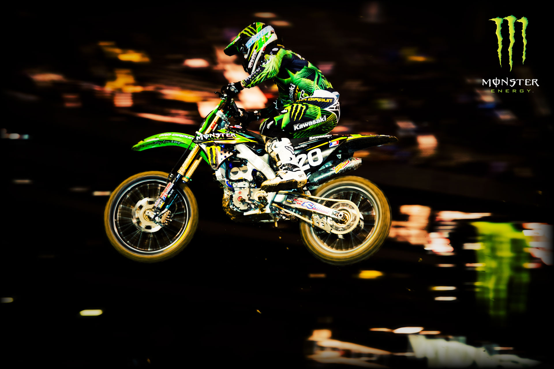 Oaklan Cox Monster Energy Wallpaper Dirt Bikes Wallpaper