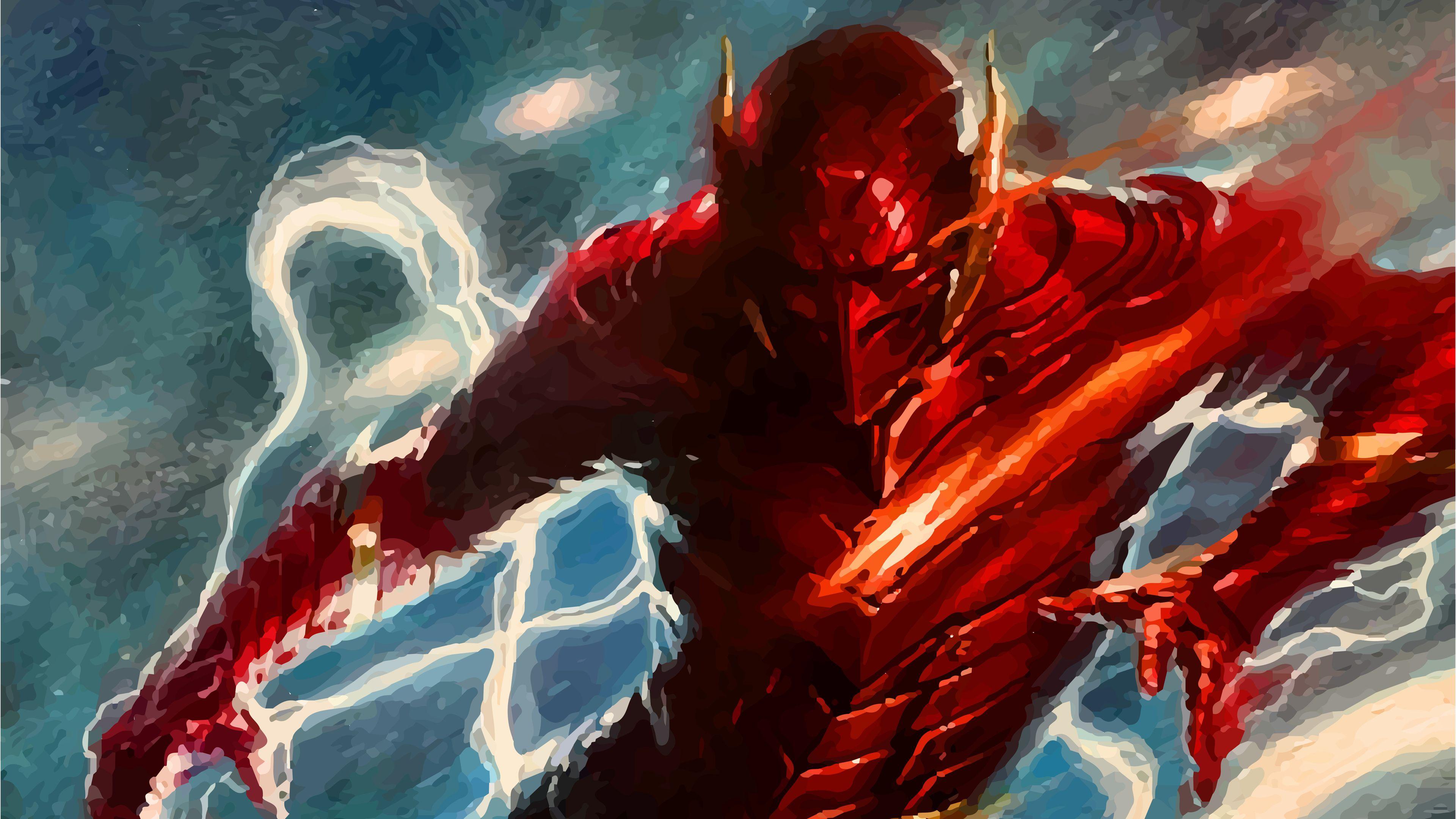 Flash Amazing Art 4k The Wallpapers Superheroes Flash