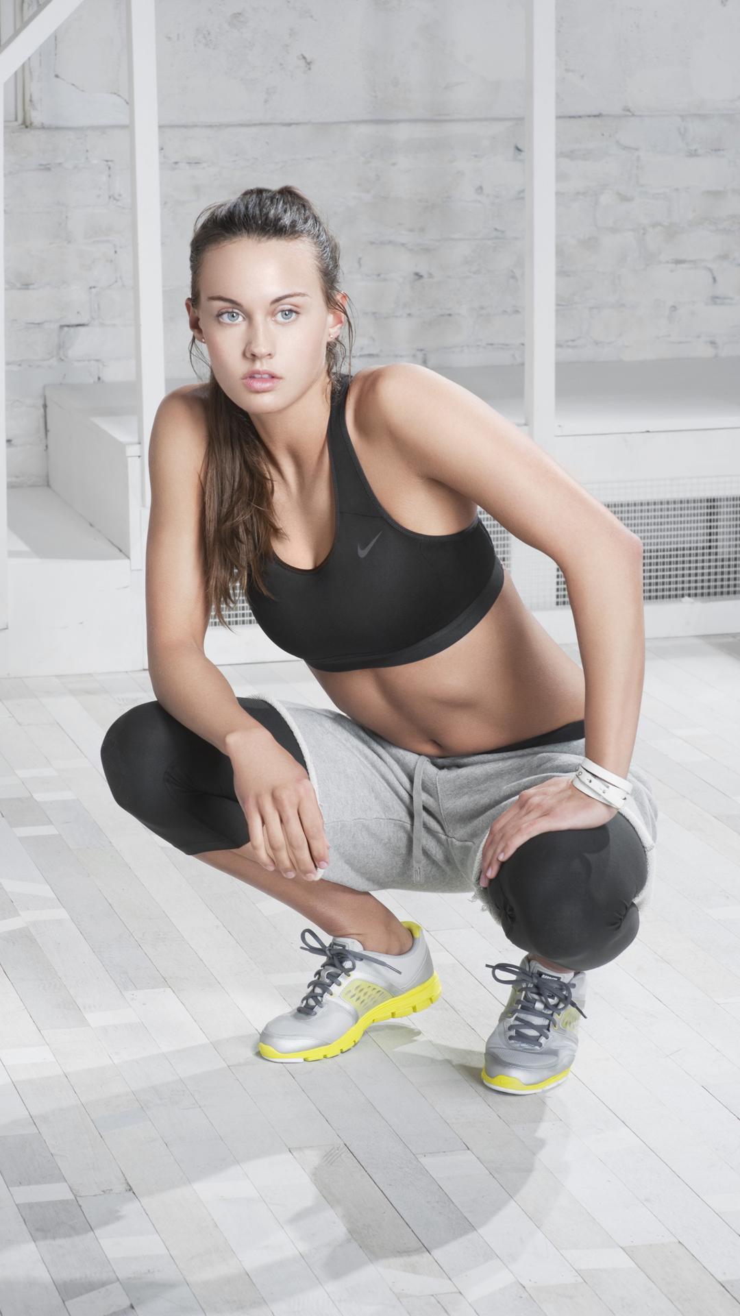 Nike Beautiful Girl Nike Girl Wallpaper Hd 2087345 Hd