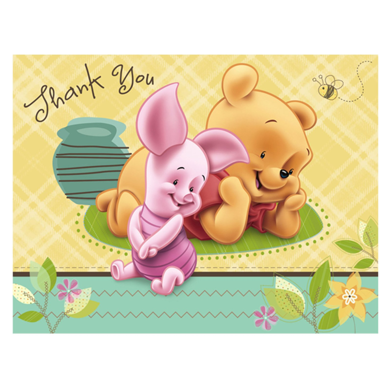 Baby Winnie The Pooh Thank You 2088627 Hd Wallpaper