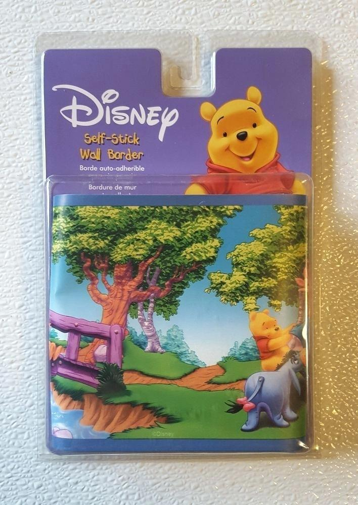 New Disney Winnie The Pooh Friends Wall Border Room Disney