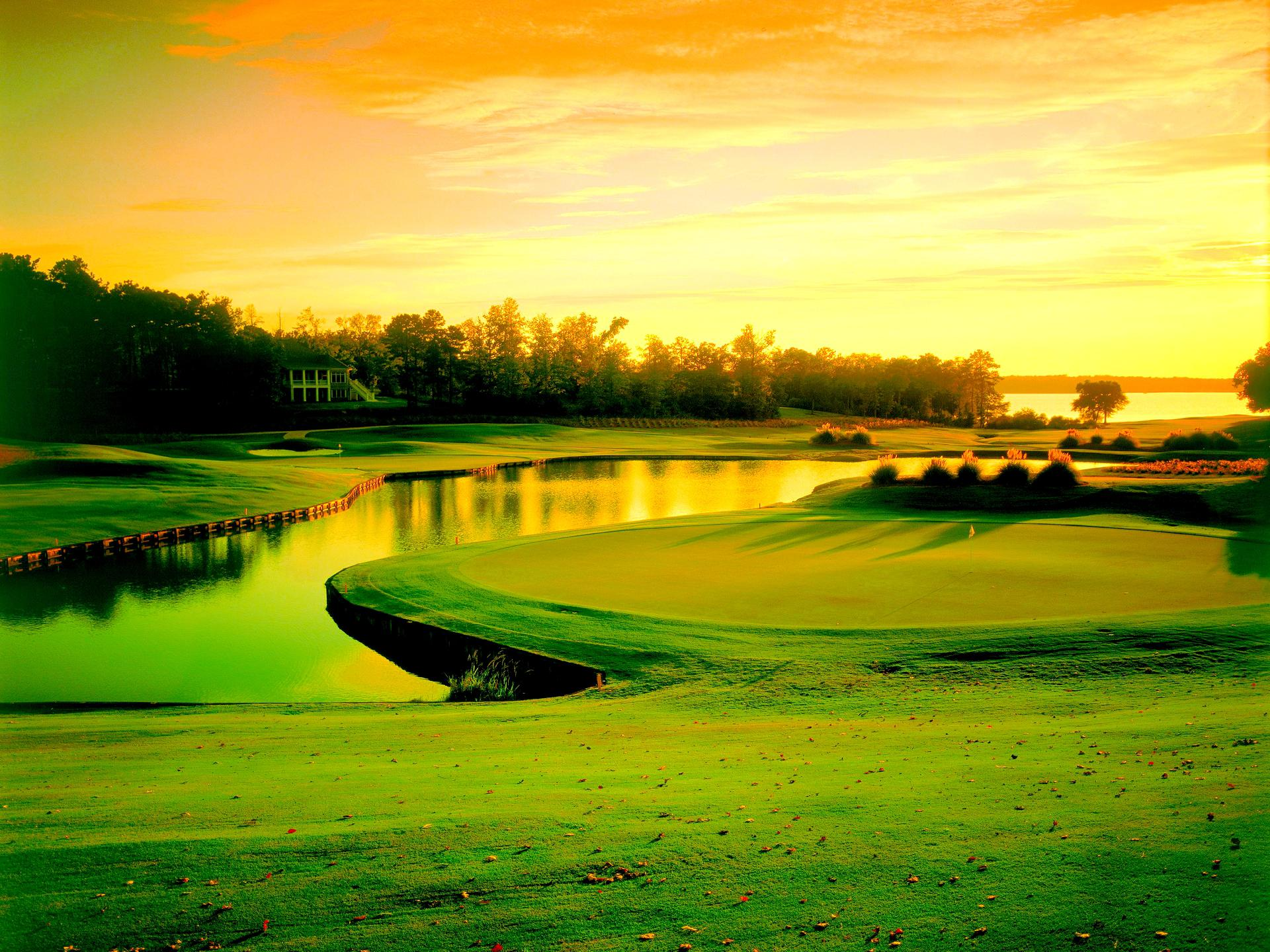 Golf Course Wallpapers Widescreen 2089654 Hd Wallpaper