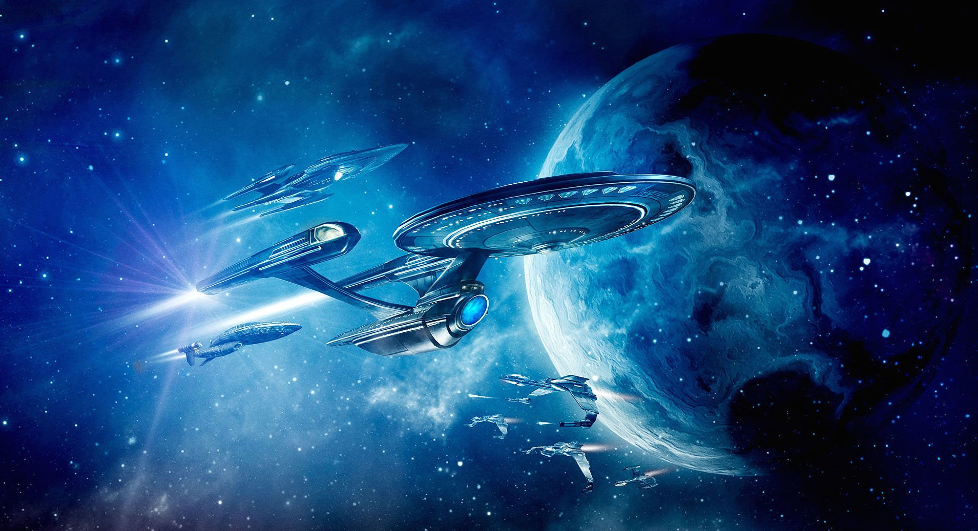 Space Star Trek Discovery , HD Wallpaper & Backgrounds