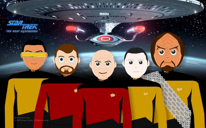 Star Trek Tng Wallpapers Wallpaper Cave - Star Trek Space Next Generation , HD Wallpaper & Backgrounds
