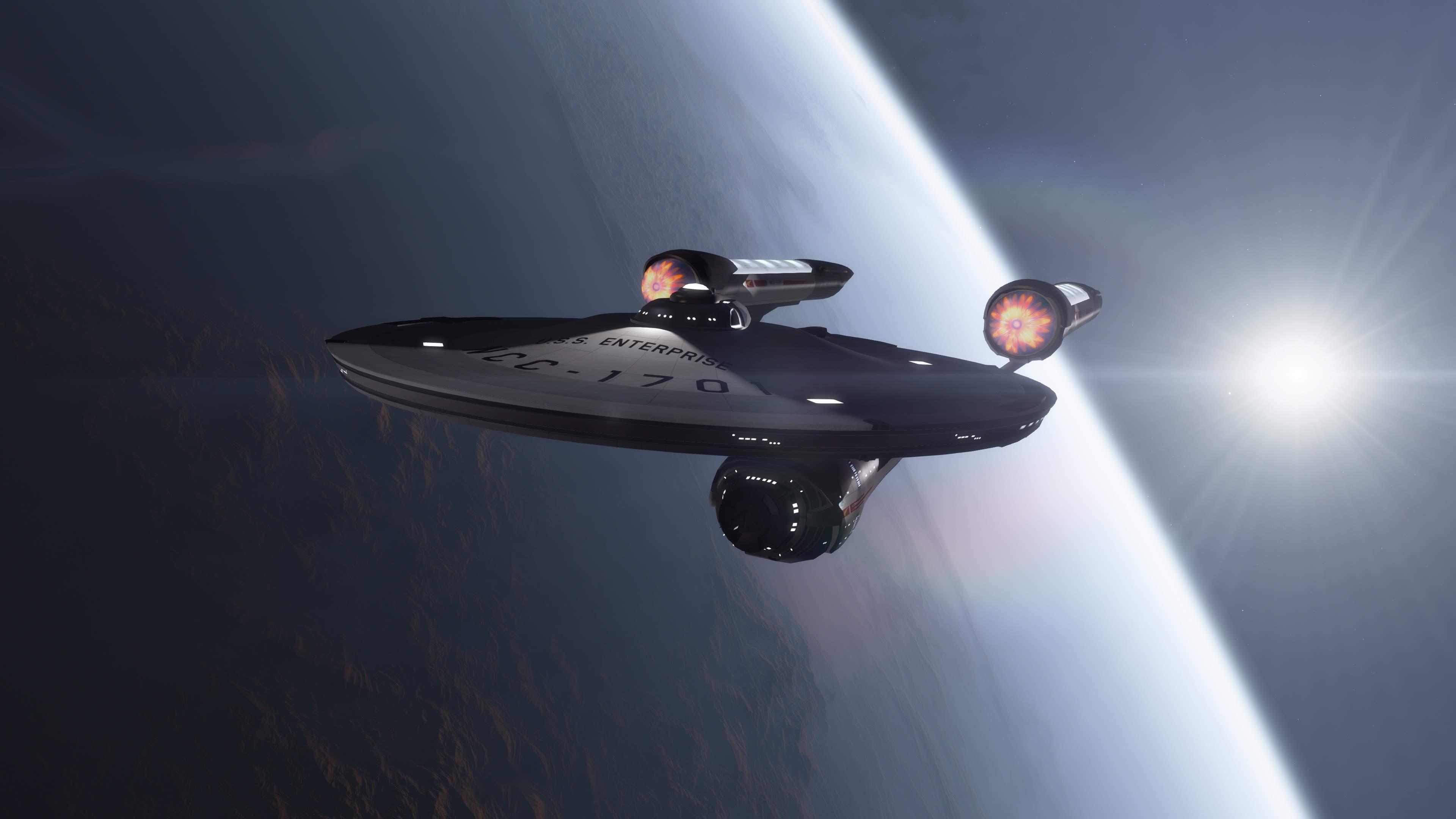 Koerner Enterprise - Star Trek Discovery Enterprise , HD Wallpaper & Backgrounds