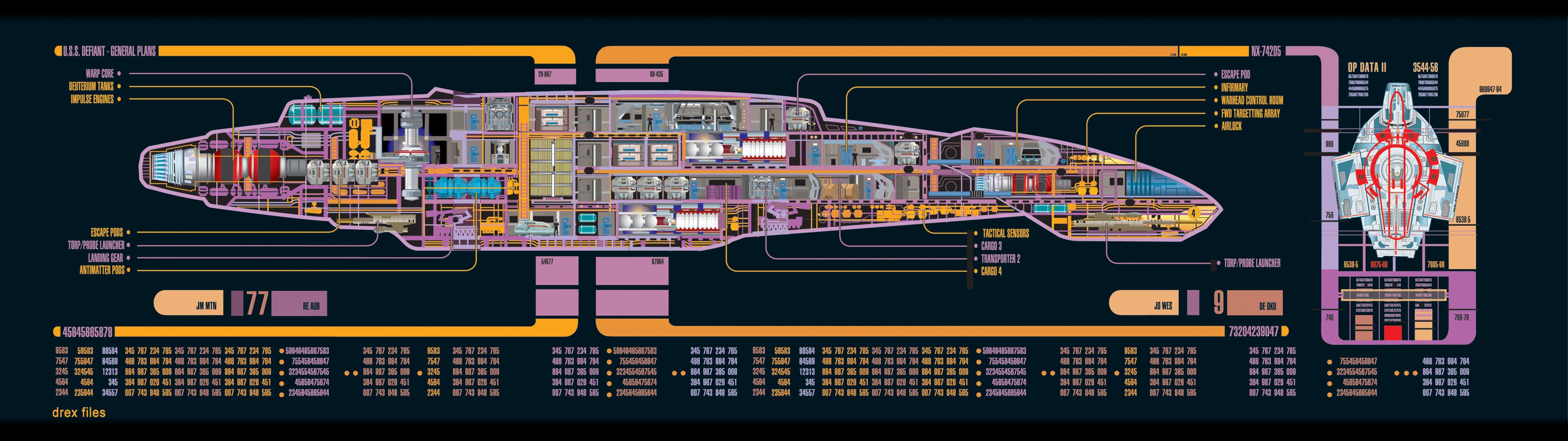Star Trek Computer Wallpapers Desktop Backgrounds Dual Monitor