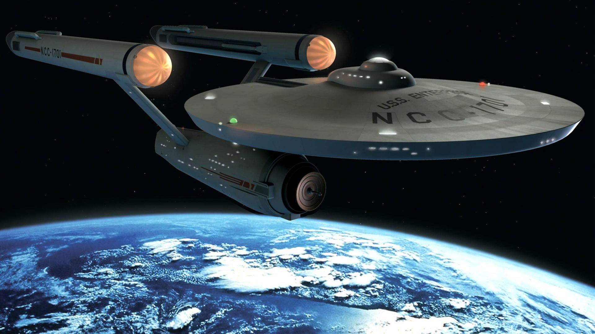 Starfleet Academy - Uss Enterprise Star Trek Painting , HD Wallpaper & Backgrounds