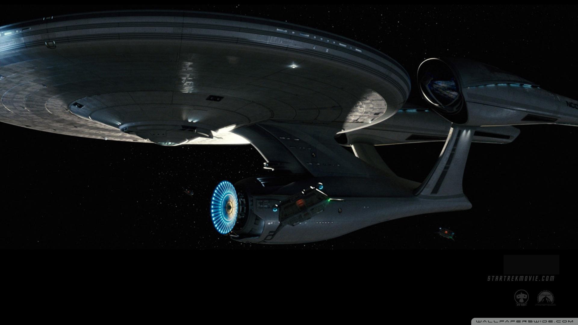 Standard - Uss Enterprise Star Trek 2009 , HD Wallpaper & Backgrounds