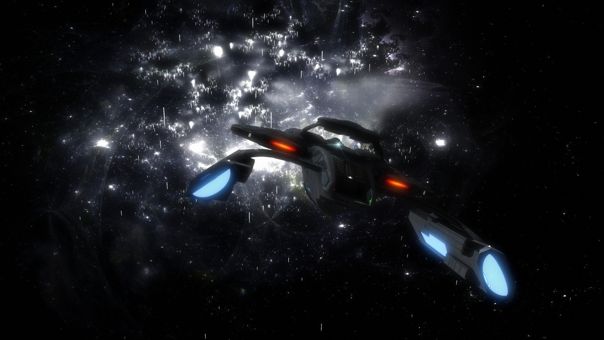 Star Trek Wallpaper For Desktop Background - Space Fantasy , HD Wallpaper & Backgrounds