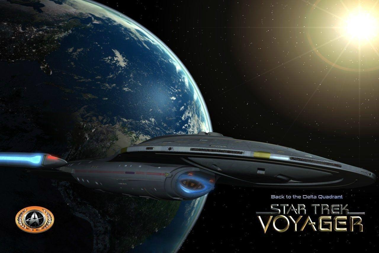 Hd Widescreen Star Trek Voyager Wallpaper Star Trek