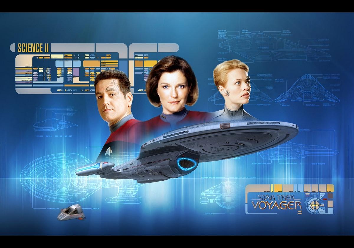 Daily Pic Star Trek Voyager Artwork 2093751 Hd