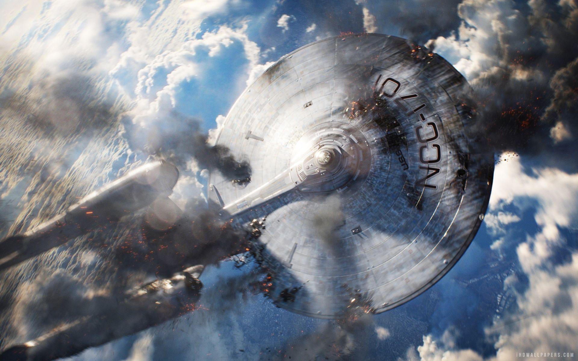 Uss Enterprise In Star Trek Into Darkness Hd Wallpaper