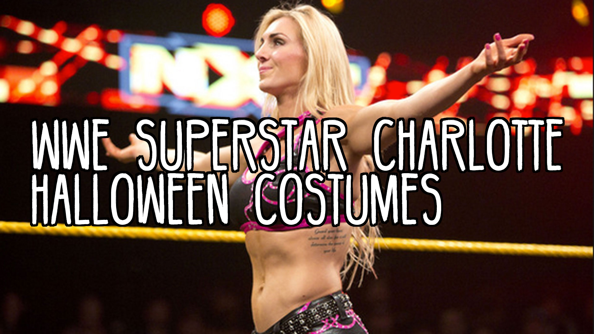 Wwe Charlotte Flair Costume , HD Wallpaper & Backgrounds
