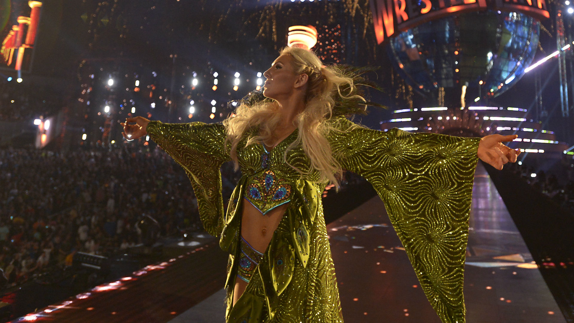 Charlotte Flair On Moving To 'smackdown,' Elevating - Charlotte Flair Wrestlemania 33 , HD Wallpaper & Backgrounds