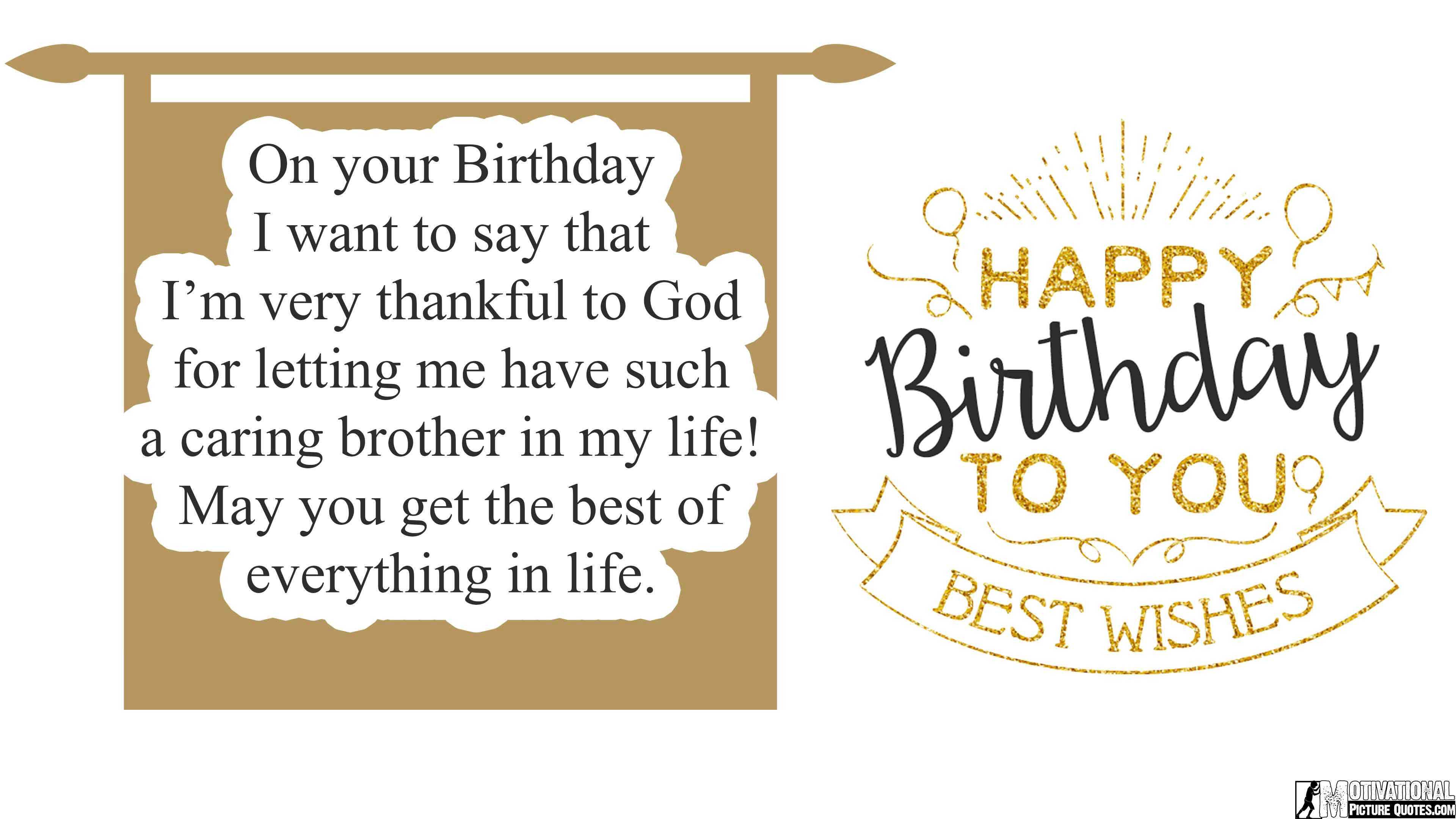 Awe Inspiring Birthday Messages For Brother From Sister Inspirational Birthday Personalised Birthday Cards Veneteletsinfo