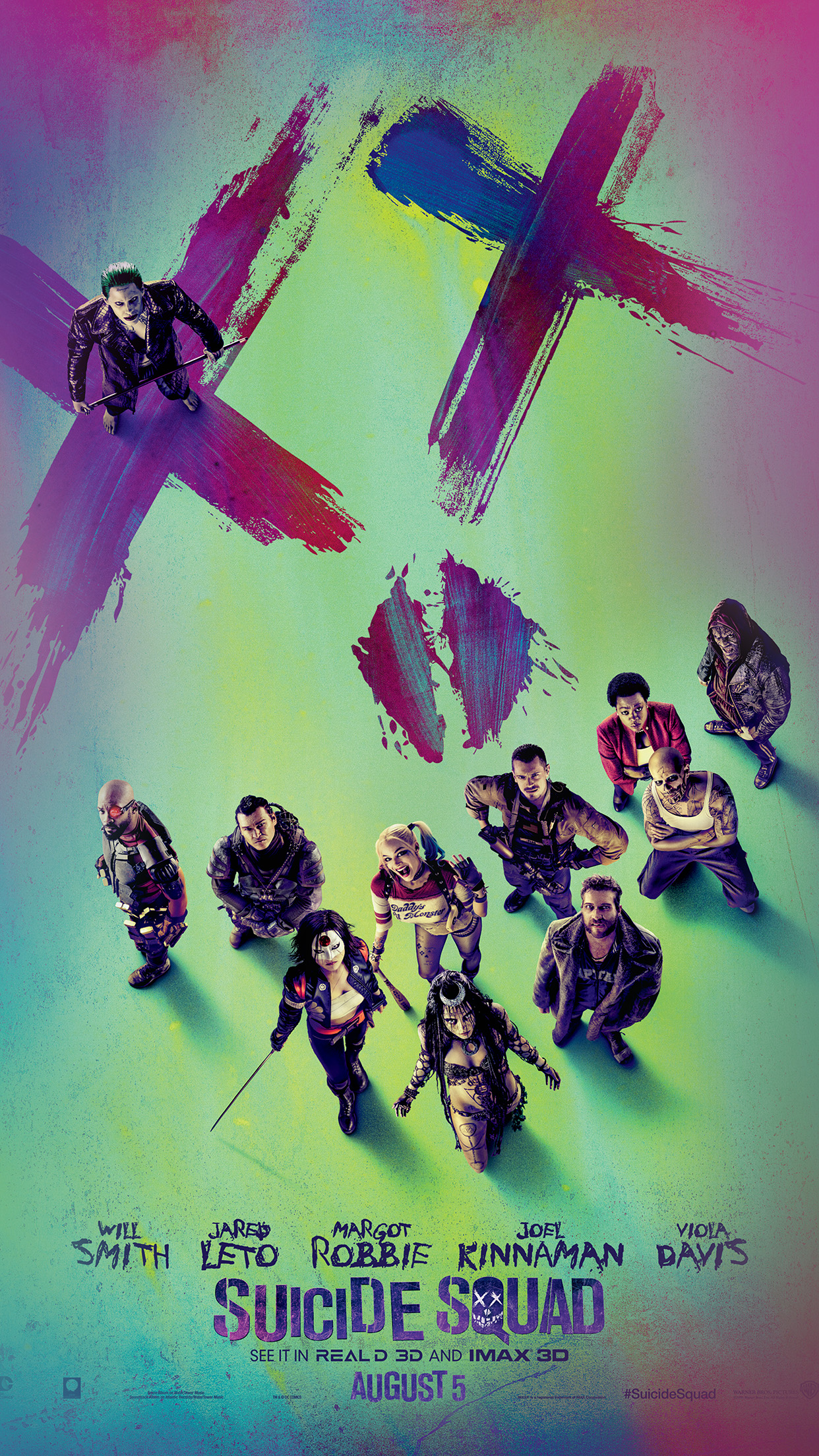 Suicide Squad Wallpaper For Iphone , HD Wallpaper & Backgrounds
