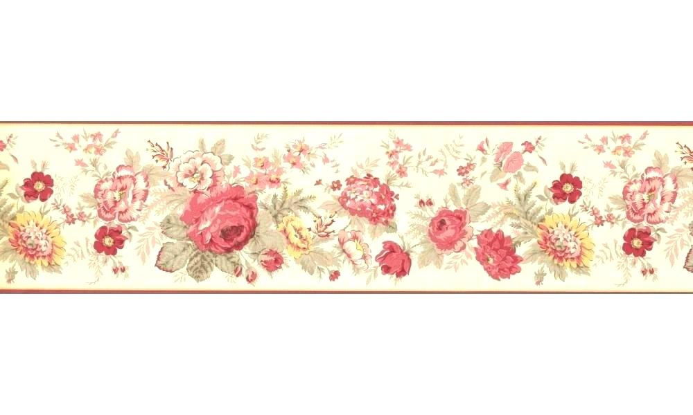 Wall Border Paper Laundry Room Borders Wallpaper Clothesline - Borders With Roses And Peonies , HD Wallpaper & Backgrounds