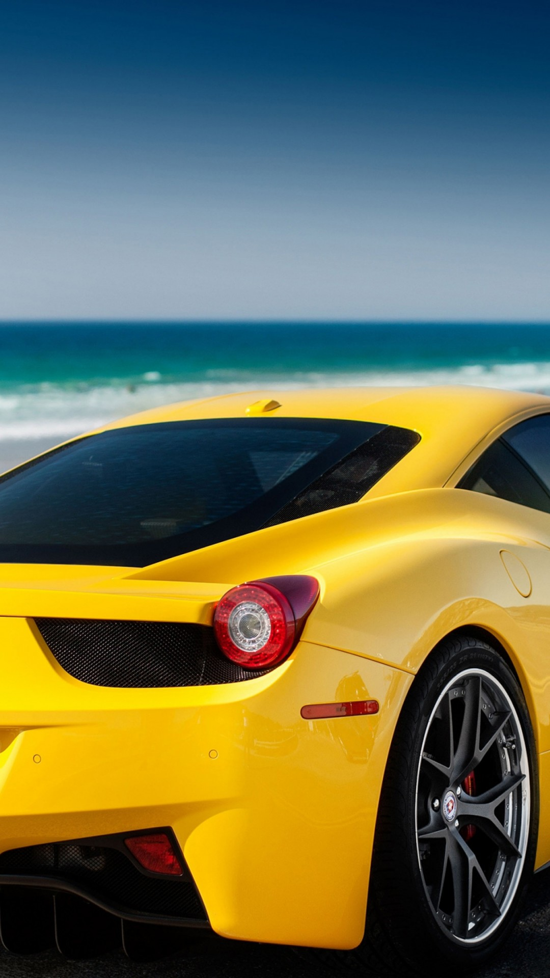 Ferrari Car On Beach Hd 2099534 Hd Wallpaper Backgrounds Download