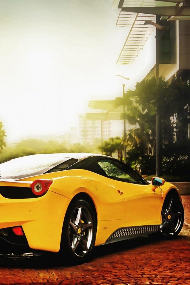 Download Now - Ferrari Wallpaper For Mobile , HD Wallpaper & Backgrounds