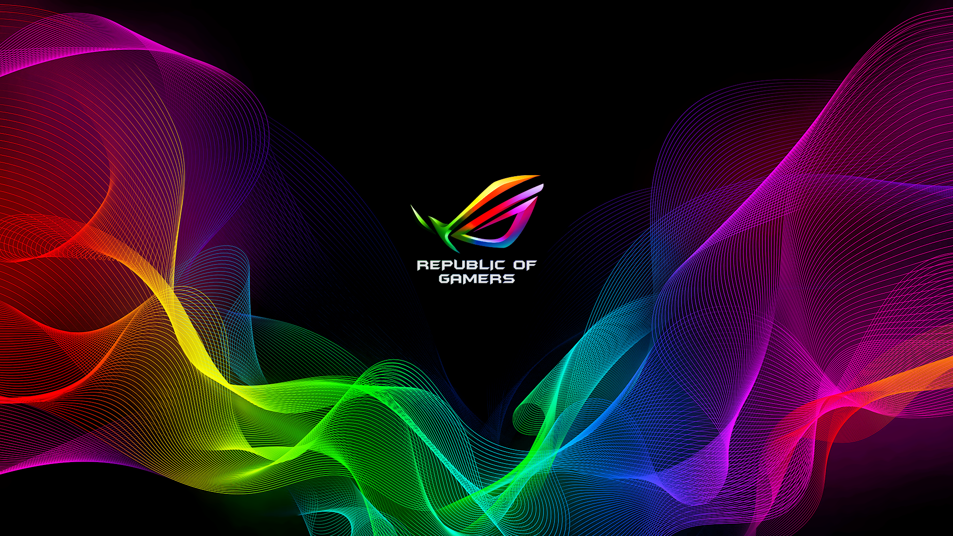 Rgb Rog Wallpaper Based The E From Razer Asus Rog